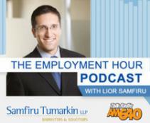 Employment Hour Toronto: Wednesday June 21st 2017